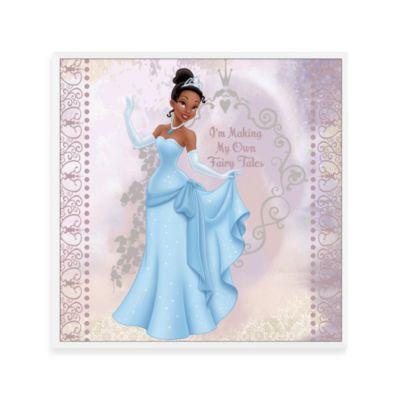 Making My Own Fairytales 12-Inch x 12-Inch Disney Princess Wall Art