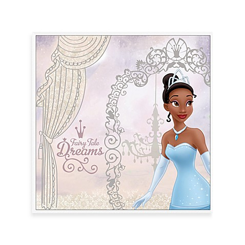 Fairytale Dreams 12-Inch x 12-Inch Disney Princess Wall Art