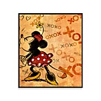 Vintage Minnie XOXO 12-Inch x 14-Inch Wall Art