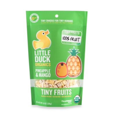 Food > Little Duck Organics Tiny Fruits  - Pineapple & Mango