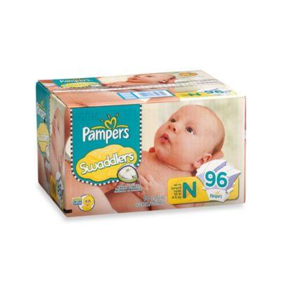 Pampers® Swaddlers Size Newborn 96-Count Diapers