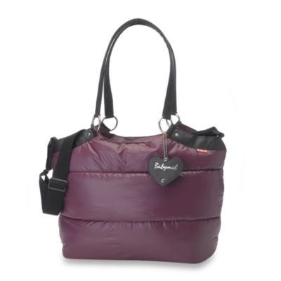 Babymel Camden Carry All in Aubergine