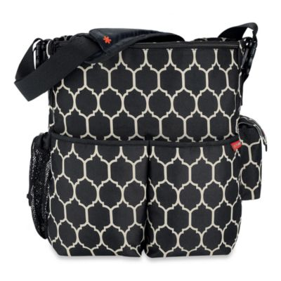 SKIP*HOP® Onyx Tile Duo Diaper Bag