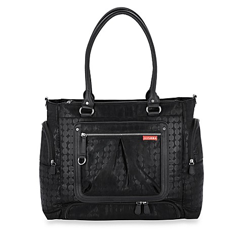 SKIP*HOP® Lady Bento Diaper Bag in Black Dot