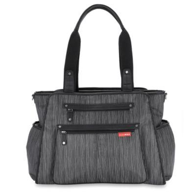 SKIP*HOP® Grand Central Take-It-All Diaper Bag in Wavy Stripe