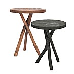 Safavieh American Home Quinn Tripod Round End Tables