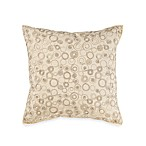 Real Simple® Linear Square Toss Pillow in Ivory