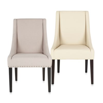 Safavieh Brittannia Beige Side Chairs