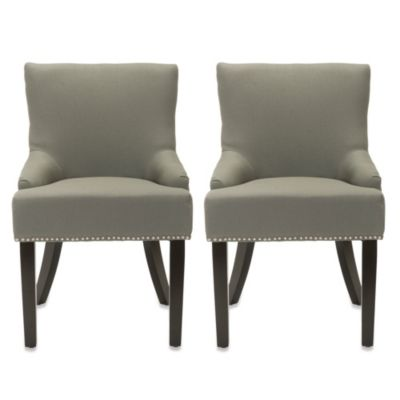 Safavieh Lotus Side Chair in Beige (Set of 2)