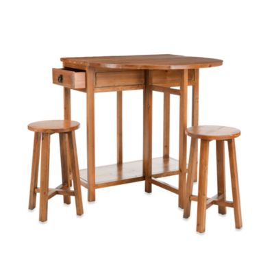 Safavieh American Home Miles Bar Table with Two Stools
