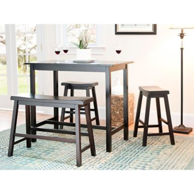 Safavieh American Home Ron in 4-Piece Pub Table Set