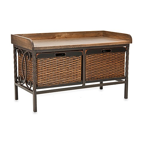 Safavieh Noah Wooden Storage Bench