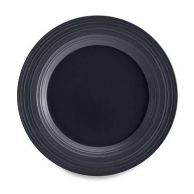 Mikasa® Swirl 12-Inch Round Platter in Graphite