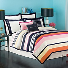 kate spade Candy Shop Stripe Duvet Cover