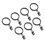 Transitions 1-Inch Graphite Clip Rings (Set of 7)
