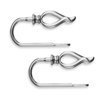Transitions Flame Brushed Nickel Holdbacks (Set of 2)
