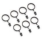 Transitions Banded Ball Clip Rings (Set of 7)