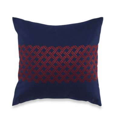 Nautica® Chilmark Basketweave Square Toss Pillow