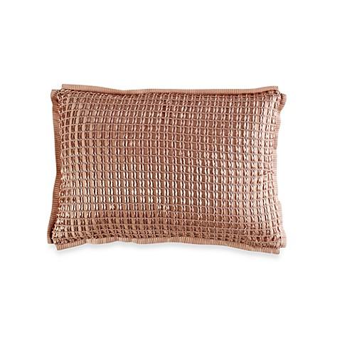Vince Camuto 174 Rose Gold Oblong Toss Pillow Bed Bath Amp Beyond