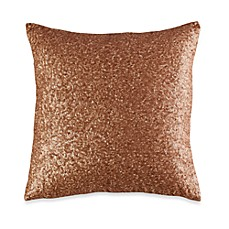 Vince Camuto® Rose Gold 16-Inch Square Toss Pillow