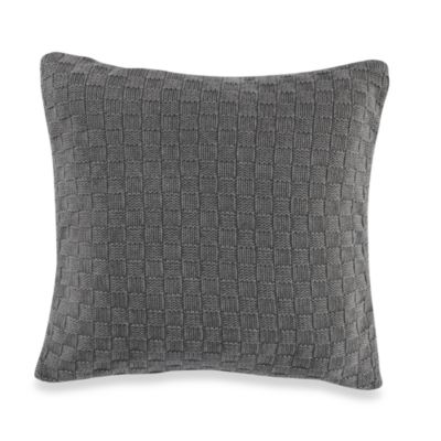Nautica® Harpswell Knit Square Toss Pillow