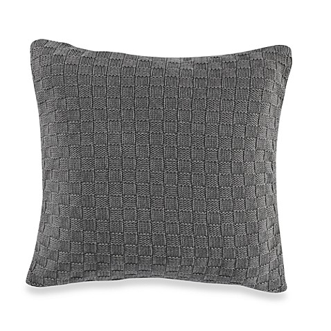 Nautica® Harpswell Knit Square Throw Pillow