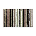 Park B. Smith® Magic Plush Stripe 20-Inch x 30-Inch Bath Rug in Mineral