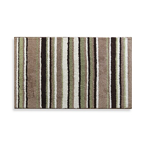 Park B. Smith® Magic Plush Stripe 24-Inch x 40-Inch Bath Rug
