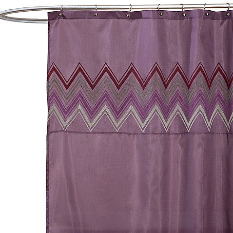 Plum Colored Shower Curtains Fabric Shower Curtains