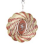 NFL 10-Inch Geo Spinner in San Francisco 49ers
