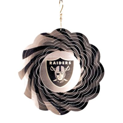 NFL 10-Inch Geo Spinner in Oakland Raiders