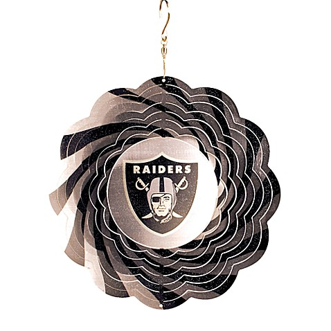 NFL Oakland Raiders Geo Spinner