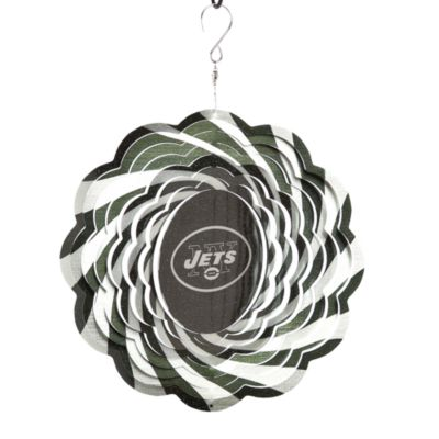 Green White Geo Spinner