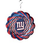 NFL 10-Inch Geo Spinner in New York Giants