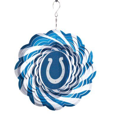 Blue White Geo Spinner
