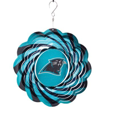 "NFL 10"" Geo Spinner - Carolina Panthers"