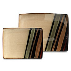 Avanti Black Rectangular Serving Platters