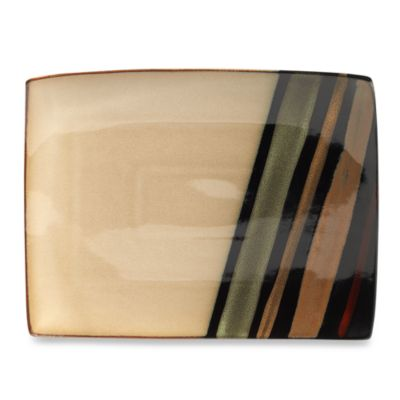 9 Black Rectangular Platter