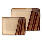 Sango® Avanti Brown Rectangular Serving Platters