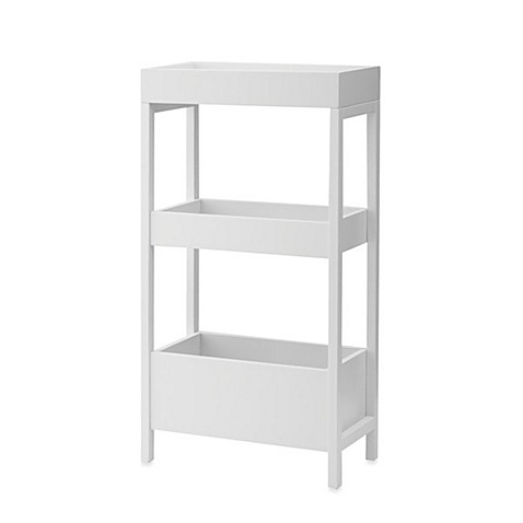 Real Simple® Three-Tier Storage with Top Tray