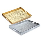 Mosaic 14-Inch x 19-Inch Rectangular Serving Trays