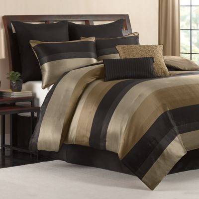 Hudson 8-Piece Queen Comforter Set