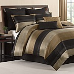 Hudson Comforter Set in Black