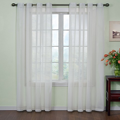"Arm & Hammer™ Curtain Fresh™ 95"" Odor Neutralizing Sheer Curtain Panel"