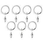 Umbra® Carafe Nickel Clip Rings (Set of 7)