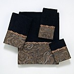 Avanti Bradford Bath Towels in Balck