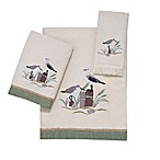 Avanti Sea Birds Fingertip Towel in Ivory