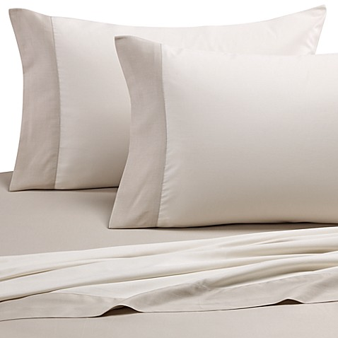 kate spade new york Spring Street California King Sheet Set in Moonbeam