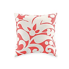 kate spade new york Spring Street Rose 16-Inch Square Toss Pillow