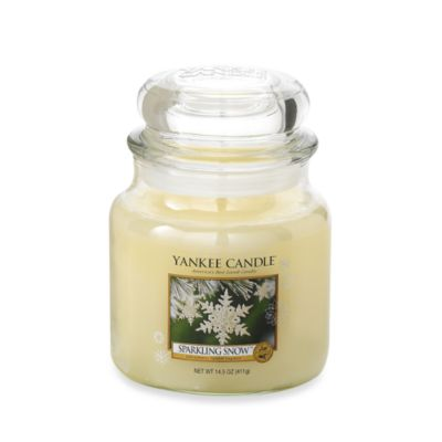 Yankee Candle® Sparkling Snow™ Medium Classic Candle Jar